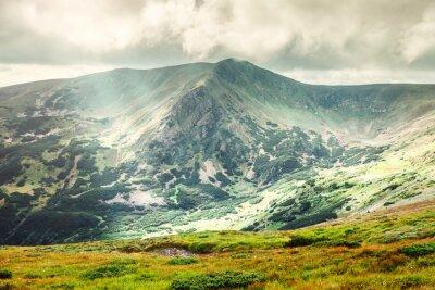 Plakát Horská krajina v létě