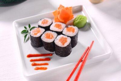 Plakát Hossomaki Sushi