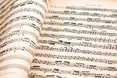 Plakát Hudba