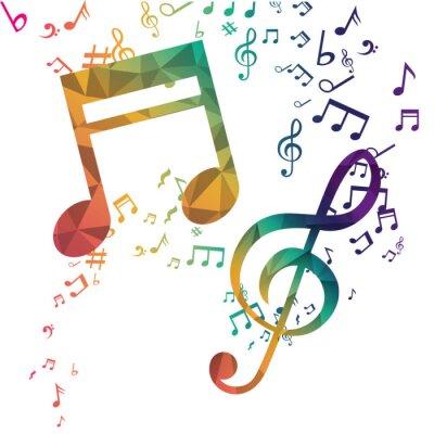 Plakát Hudba a zvukového designu