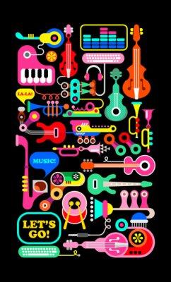 Plakát hudební kompozice
