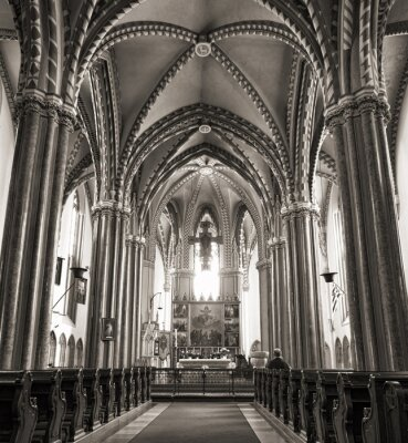 Plakát Inner City Parish Church v Budapešti