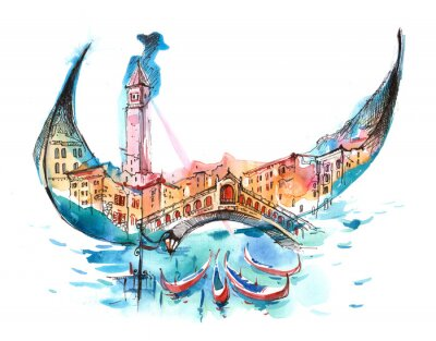 Plakát Itálie