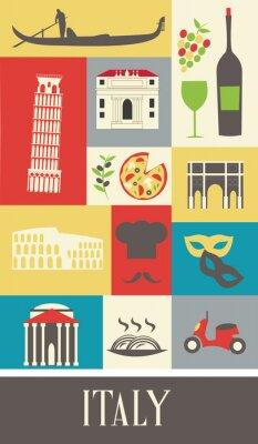 Plakát Itálie.