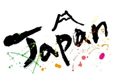 Plakát japan_moji_color