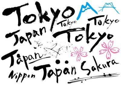 Plakát japan_mojisozai