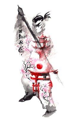 Plakát Japonsko