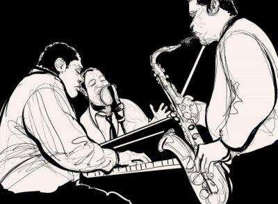 Plakát Jazz band