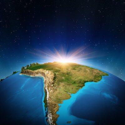 Plakát Jižní Amerika