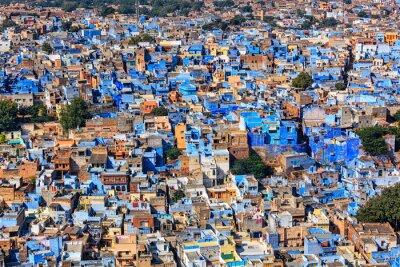Plakát Jodhpur Blue City, Rajasthan, Indie