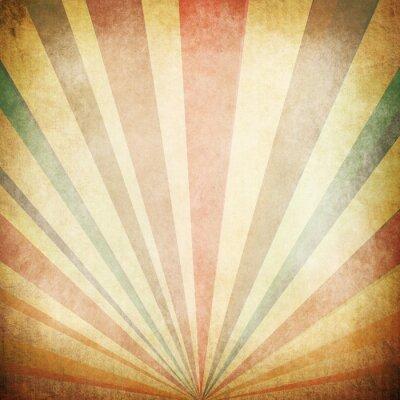 Plakát Klasické sluneční paprsky na pozadí