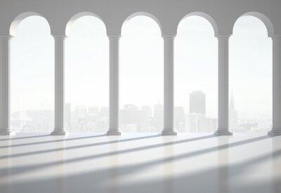Plakát klasický interiér