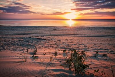 Plakát Klidný večer na pláži