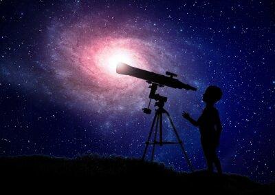 Plakát Kluk hledá přes dalekohled