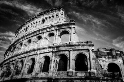 Plakát Koloseum v Římě, Itálie.
