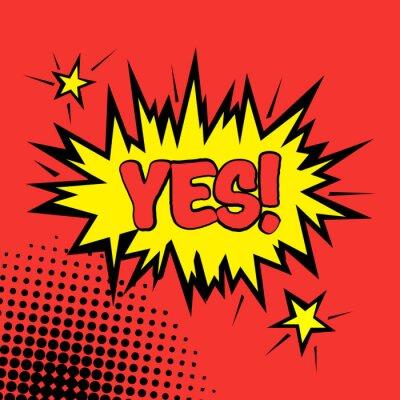 Plakát Komiks Icon Banner - Pop Art Style - ve vektorovém