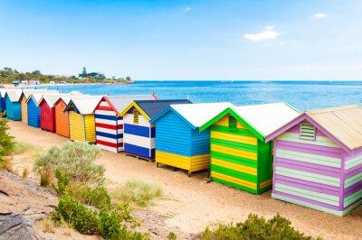Plakát Koupání boxy na Brighton Beach, Austrálie