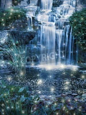Plakát Kouzelná noc vodopád scéna