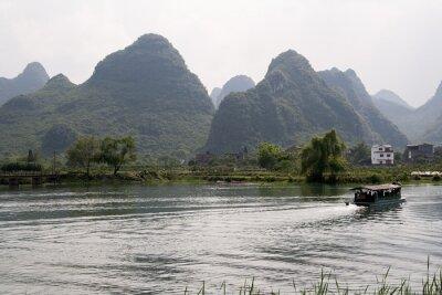 Plakát krajobraz okolic Yangshuo