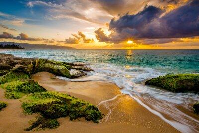 Plakát Krásná Havajská Sunset