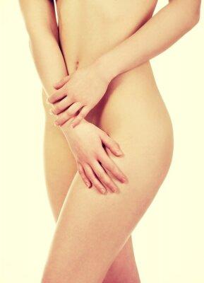 Plakát Krásná žena tělo.