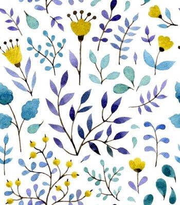 Plakát květinový vzor