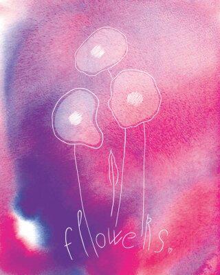 Plakát květiny
