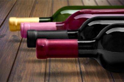 Plakát Lahev vína.