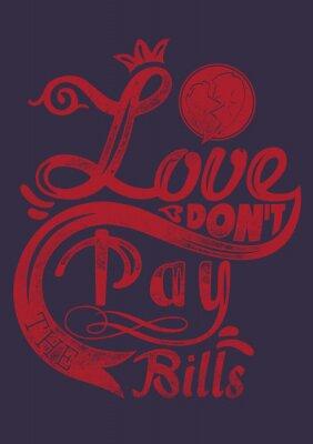 Plakát Láska opravdu spolupracují účty