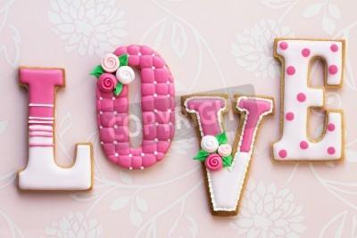 Plakát Láska sušenky