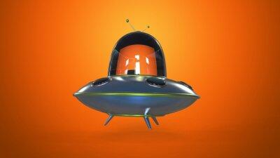 Plakát Létající talíř