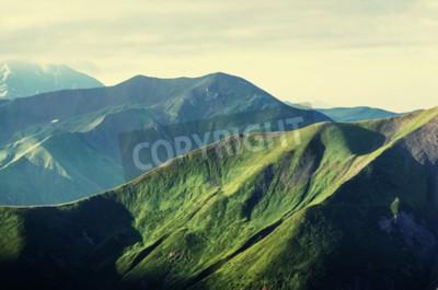Plakát Letní zelené kopce