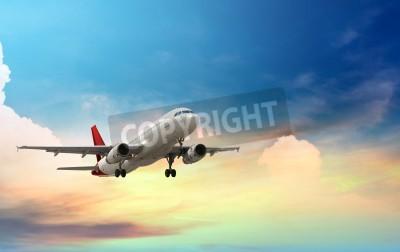 Plakát letoun vzlétl