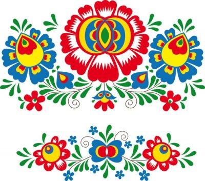 Plakát Lidovými ornamenty