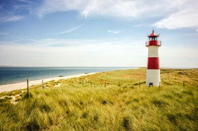 Plakát Lighthouse List (Sylt)