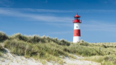 Plakát Lightouse na duně horizontální