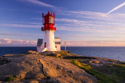 Plakát Lindesnes Lighthouse