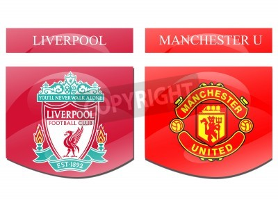 Plakát liverpool vs Manchester u