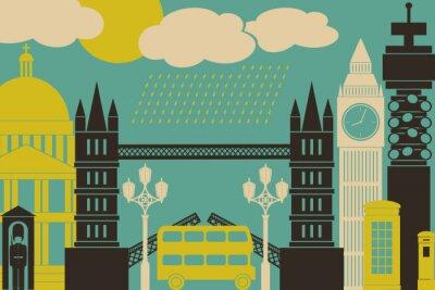 Plakát Londýn Zobrazit