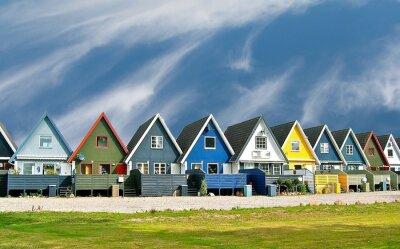 Plakát Maisons scandinaves