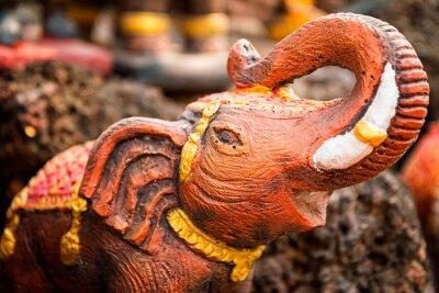 Plakát Malý slon socha
