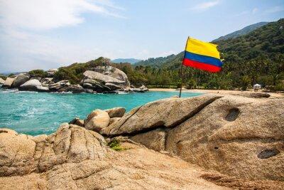 Plakát Maravilloso Parque Nacional Tayrona (Kolumbie)