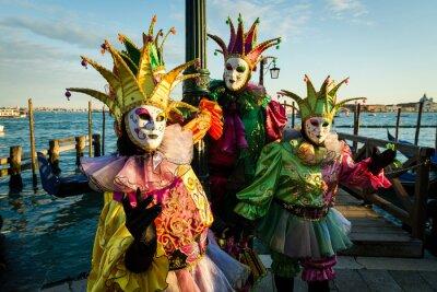 Plakát Maschera Carnevale di Venezia