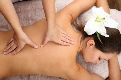Plakát Masér dělá masáž