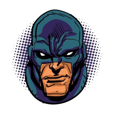 Plakát maskovaný superhrdina