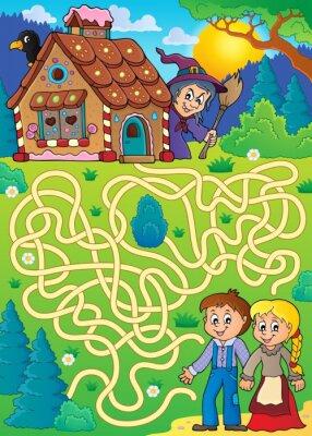 Plakát Maze 30 s motivem Hansel a Gretel