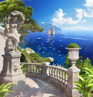 Plakát Mediterranean landscape