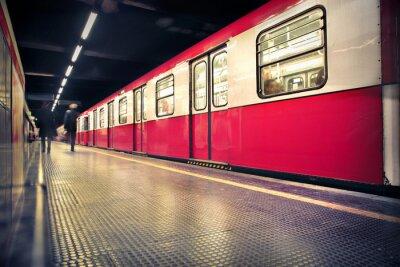 Plakát metro