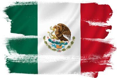 Plakát Mexico flag