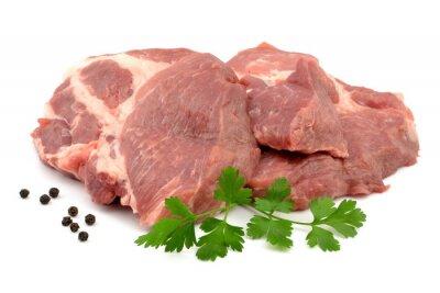 Plakát mięso wieprzowe karkówka